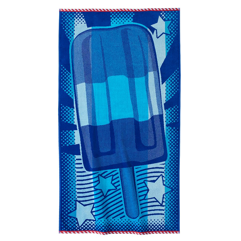 Celebrate Summer Together Popsicle Beach Towel