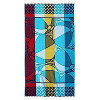 Celebrate Summer Together Beach Balls Beach Towel