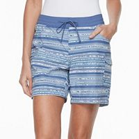 Women's Columbia Amberley Stream Striped Cargo Shorts