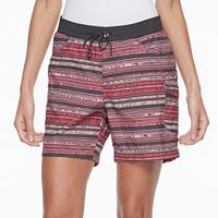 Women's Columbia Amberley Stream Striped Cargo Shorts