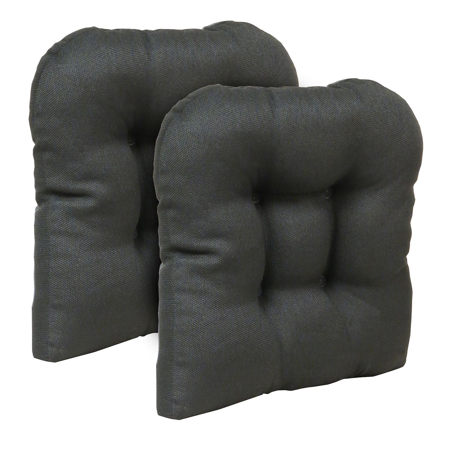 Gentil The Gripper Stoked Tufted Chair Pad 2 Pk.