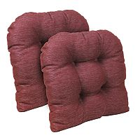 The Gripper Stoked Tufted Chair Pad 2-pk.