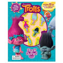 "DreamWorks Trolls ""Stuck on Stories"" Sticker Book"