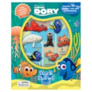 "Disney / Pixar Finding Dory ""Stuck on Stories"" Sticker Book"