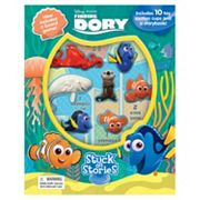 Disney / Pixar Finding Dory 'Stuck on Stories' Sticker Book