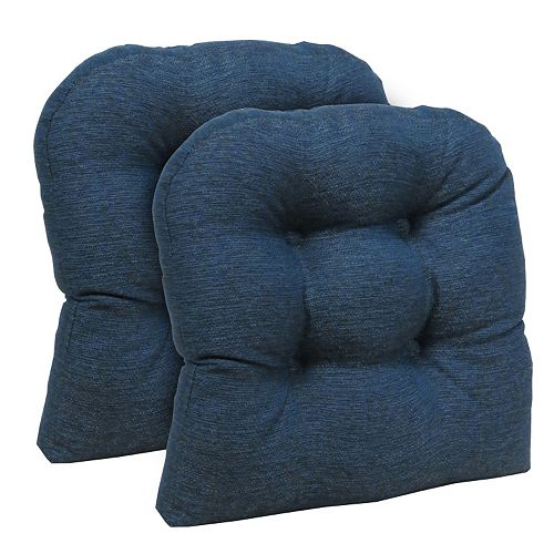 The Gripper Omega Universal Tufted Chair Pad 2-pk.