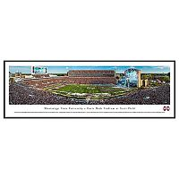 Mississippi State Bulldogs Football Stadium Framed Wall Art
