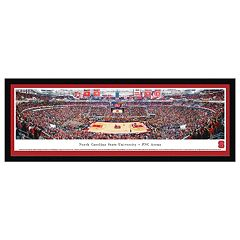 North Carolina State Wolfpack Basketball Arena Framed Wall Art