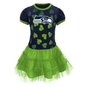 Baby Seattle Seahawks Love To Dance Tutu Dress