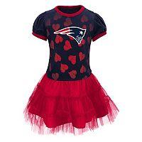 Baby New EnglandPatriots Love To Dance Tutu Dress