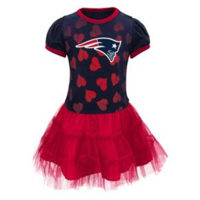 Baby New England Patriots Love To Dance Tutu Dress