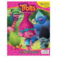 DreamWorks Trolls Busy Book