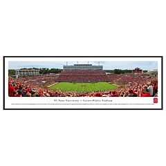 North Carolina State Wolfpack Football Stadium Framed Wall Art