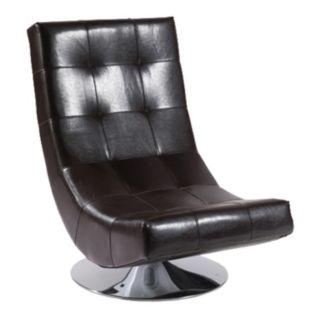 Armen Living Franklin Swivel Club Chair