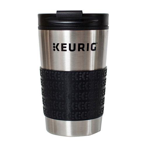 Keurig® 12-oz. Stainless Steel Travel Mug
