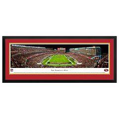 San Francisco 49ers Football Stadium Framed Wall Art