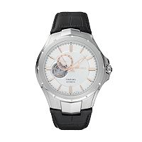 Seiko Men's Coutura Leather Automatic Watch - SSA313