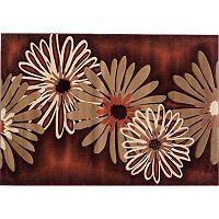 United Weavers MN Natural Contours M. Dahlia Floral Rug