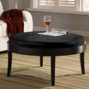 Armen Living Concord Table Ottoman