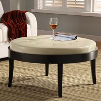 Armen Living Concord Table Ottoman