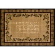 United Weavers Contours CEM Collection Winter Pines Rug
