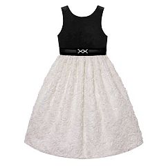 Girls 7-16 & Plus Size Velvet Soutache Skirt Dress