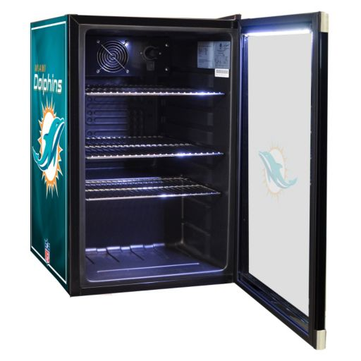 Miami Dolphins 2.5 cu. ft. Refrigerated Beverage Center