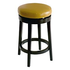Armen Living Seaside Swivel Bar Stool