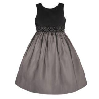 Girls 7-16 & Plus Size American Princess Beaded Waist Organza Dress