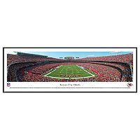 Kansas City Chiefs Football Stadium Framed Wall Art