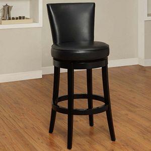 Swell Linon Monaco Red Counter Stool Machost Co Dining Chair Design Ideas Machostcouk