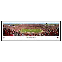 Kansas City Chiefs Football Stadium Day Framed Wall Art