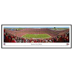 Kansas City Chiefs Football Stadium Day Framed Wall Art