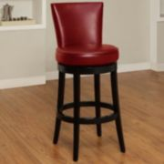 Armen Living Newark Swivel Bar Stool
