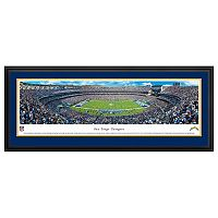 San Diego Chargers Football Stadium Framed Wall Art