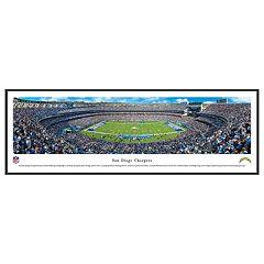 San DiegoChargers Football Stadium Framed Wall Art