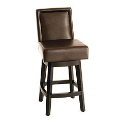 Armen Living Carlsbad Swivel Counter Stool