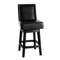 Armen Living Carlsbad Swivel Bar Stool