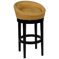 Armen Living Kirkland Swivel Bar Stool