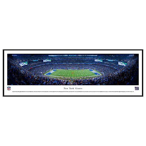 New York Giants Football Stadium Framed Wall Art