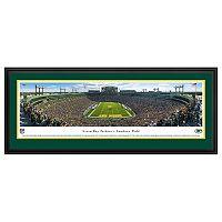 Green Bay Packers Football Stadium End Zone Framed Wall Art