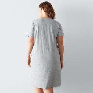 Plus Size SONOMA Goods for Life™ Pajamas: Weekend Love Sleep Shirt