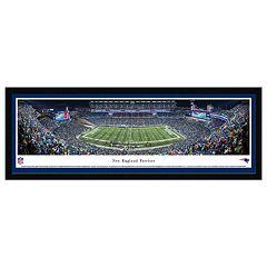 New EnglandPatriots Football Stadium Night Framed Wall Art