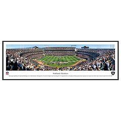 Oakland Raiders Football Stadium Framed Wall Art