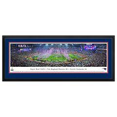 New EnglandPatriots Super Bowl XLIX Football Stadium Framed Wall Art