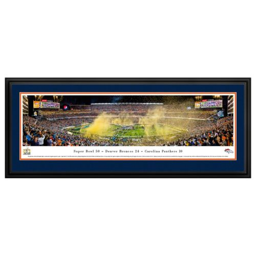 Denver Broncos Super Bowl 50 Framed Wall Art