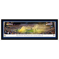 Denver Broncos Super Bowl 50 Framed Wall Art