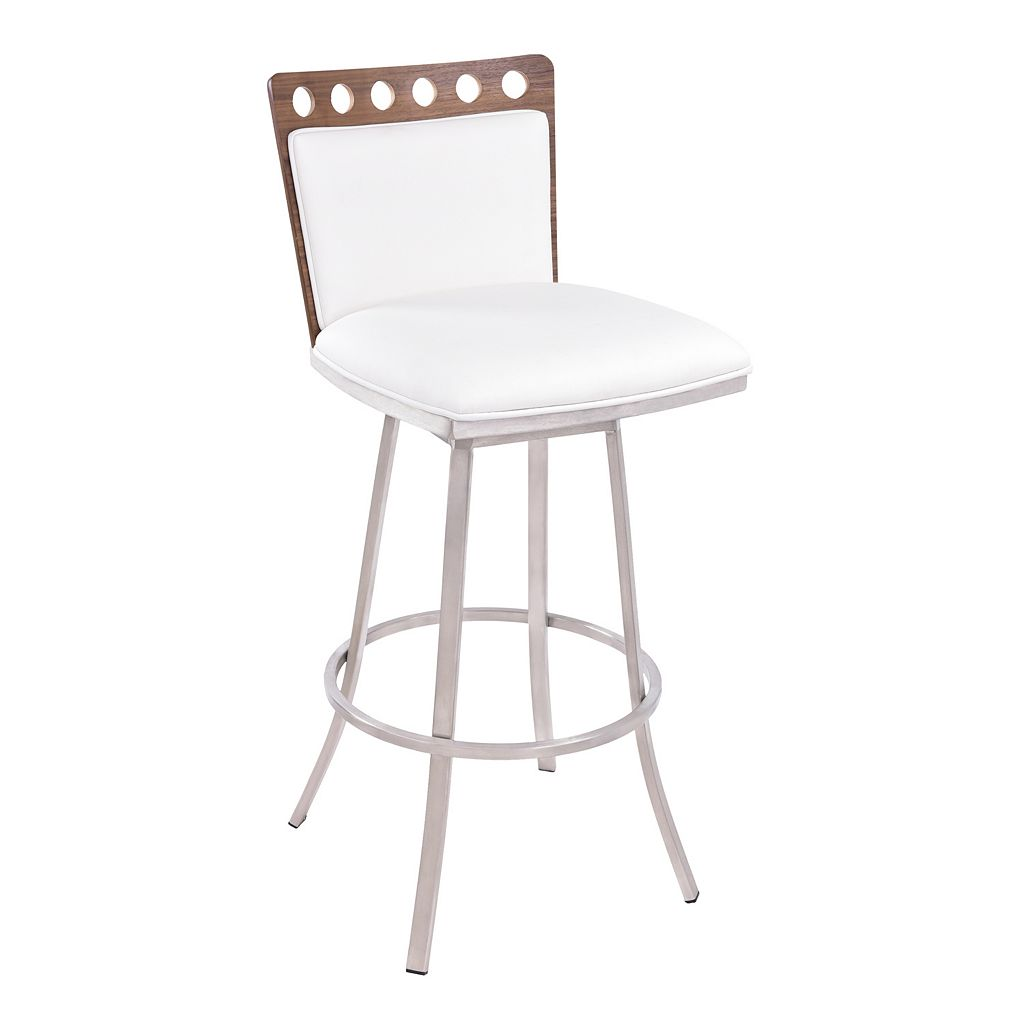 Armen Living Coco Swivel Bar Stool