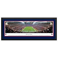 Houston Texans Football Stadium End Zone Framed Wall Art