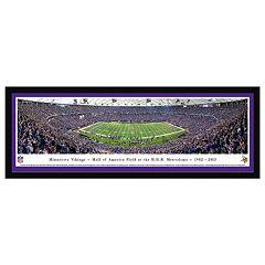 Minnesota Vikings Football Stadium Metrodome Framed Wall Art